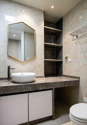 经济型140平米三室一厅新古典风格卫生间装修案例