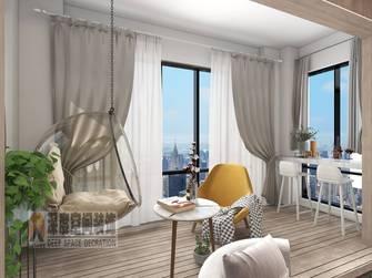 10-15万140平米三室两厅轻奢风格阳台装修案例