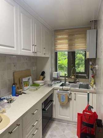5-10万90平米中式风格厨房装修效果图