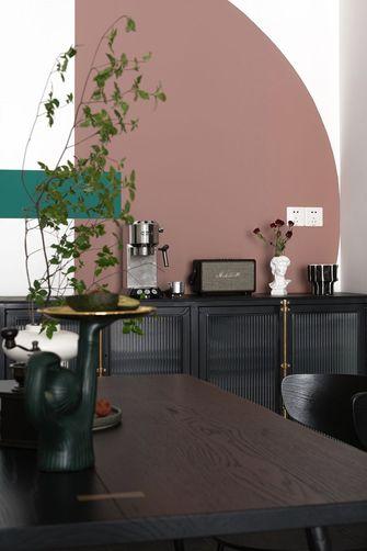 富裕型80平米混搭风格餐厅设计图