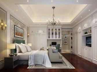 20万以上140平米复式中式风格青少年房设计图