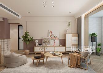 20万以上90平米日式风格客厅装修案例