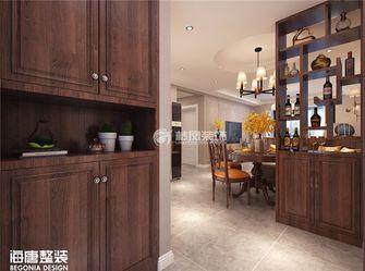 120平米三室两厅美式风格玄关装修效果图