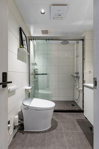 经济型60平米一室两厅北欧风格卫生间图片