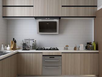 富裕型80平米日式风格厨房图