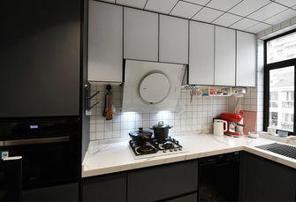 富裕型140平米复式混搭风格厨房图片大全