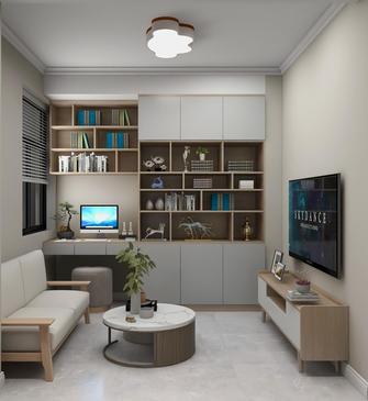 豪华型100平米四室两厅日式风格书房装修案例
