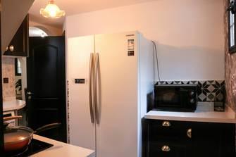 80平米复式法式风格厨房图片
