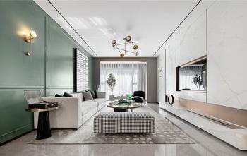 豪华型140平米三法式风格客厅装修案例