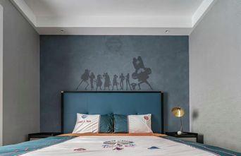 豪华型140平米三室两厅现代简约风格青少年房装修图片大全