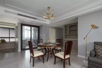 3万以下130平米三室两厅美式风格餐厅图片大全