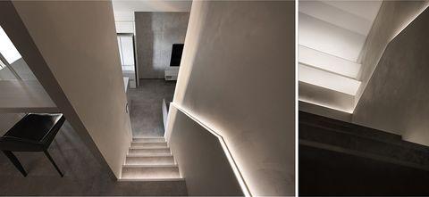 5-10万60平米一室一厅现代简约风格楼梯间设计图