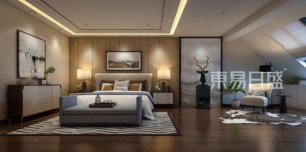 140平米别墅港式风格卧室图片大全