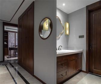 5-10万140平米四室一厅中式风格卫生间设计图