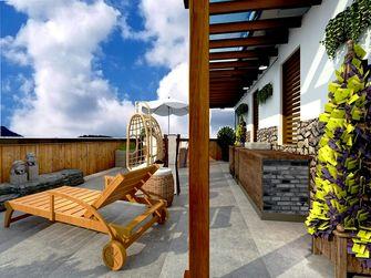 140平米别墅中式风格阳台图片