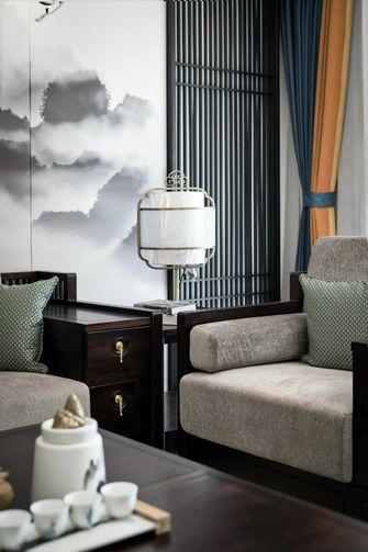 130平米三室一厅中式风格客厅装修效果图