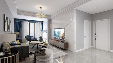 70平米欧式风格客厅图