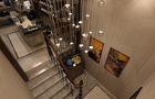 120平米三室一厅法式风格影音室图片大全