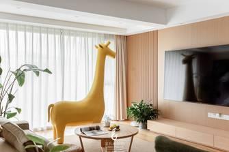 富裕型130平米四日式风格客厅装修图片大全