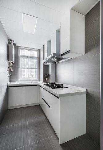 富裕型80平米现代简约风格厨房欣赏图
