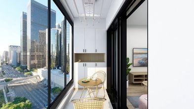 经济型70平米一室一厅北欧风格阳台装修案例