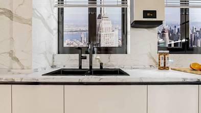 140平米别墅英伦风格厨房效果图