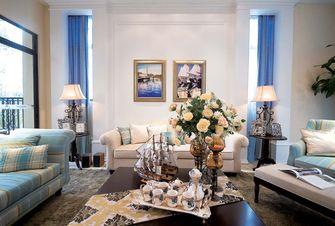 90平米公寓轻奢风格客厅设计图