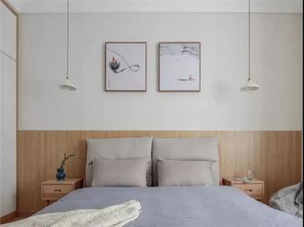 经济型110平米田园风格卧室欣赏图