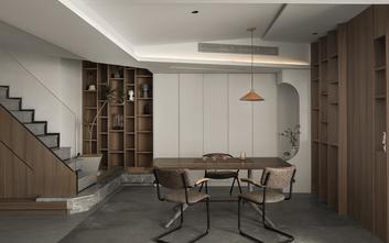 豪华型140平米三室三厅工业风风格客厅装修图片大全