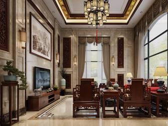豪华型140平米复式中式风格客厅图