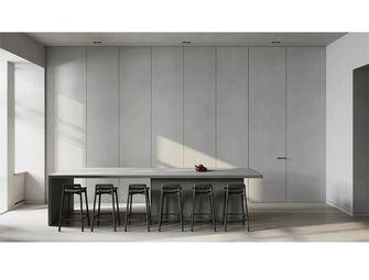 120平米三室两厅工业风风格餐厅图片