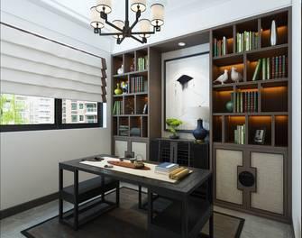 富裕型140平米四室四厅轻奢风格书房图片