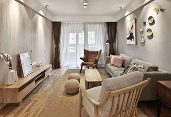 富裕型三室两厅北欧风格走廊图