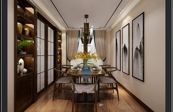 100平米四美式风格餐厅效果图