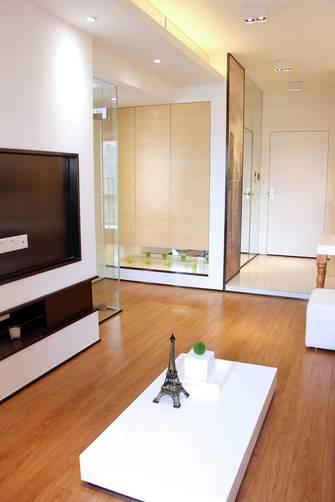 15-20万110平米三室一厅北欧风格客厅图片