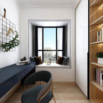 100平米三室两厅欧式风格书房效果图