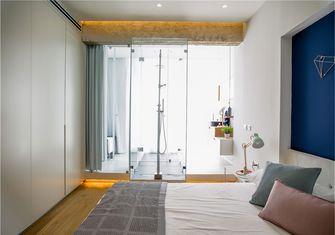 富裕型70平米一室一厅北欧风格卧室设计图