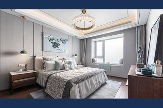 120平米三室一厅中式风格卧室图