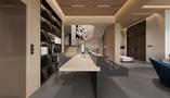 豪华型140平米别墅混搭风格书房效果图