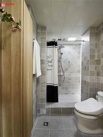 豪华型110平米三室一厅北欧风格卫生间装修案例
