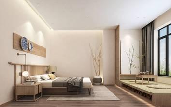 15-20万140平米四日式风格卧室图