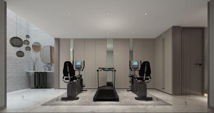 140平米四室三厅中式风格健身房效果图