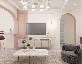 70平米法式风格客厅欣赏图