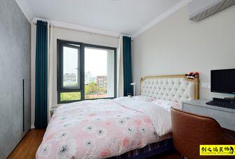 经济型90平米三室一厅混搭风格卧室效果图