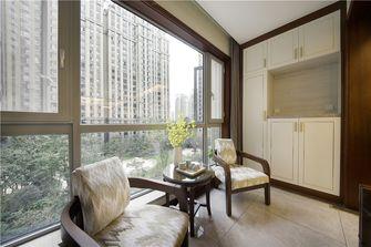 140平米四室一厅中式风格阳台欣赏图
