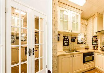 10-15万130平米三室两厅田园风格厨房图片