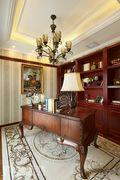 豪华型140平米别墅美式风格书房图片大全