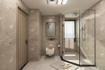 5-10万130平米三室一厅轻奢风格卫生间欣赏图