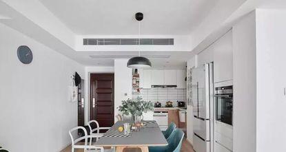 富裕型90平米美式风格客厅装修案例