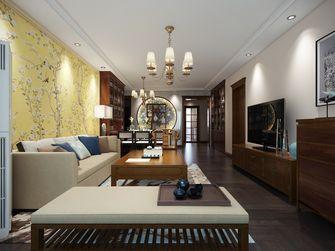 豪华型120平米三室一厅中式风格客厅图片大全